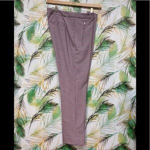 Banana Republic Sloan Plaid Pants